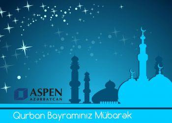 Aspen kollektiivi xalqımızı Qurban Bayramı ilə təbrik edir.
