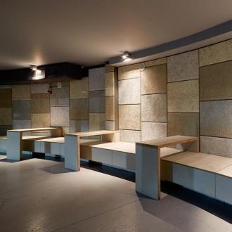 Cewood taxta-sement qarışıq panellər